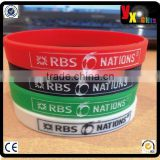 6 Nations Silicone Wrist Band, Adult Size/wedding decoration