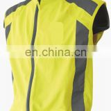 running/walking/hiking reflective safety jacket with fleece