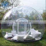 Pomotion!! inflatable transparent tentromantic ,bubble tent for party ,camping inflatable clear multi-room tent