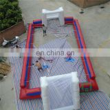 Excellent quality inflatable football pitch,inflatable soccer ball field,inflatable soap soccer field