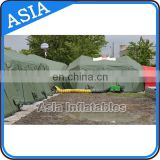 High Quality Inflatable Medical Tent For Military Use / Airtight Army Tent