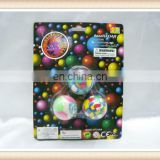 3pcs bounce back ball, rubber foam ball