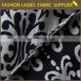 Onway textile Hot Selling Plain Knitted Polyester Jacquard Woven Fabric