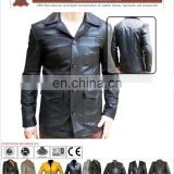 OEM manufacture winter clothing customized outdoor down coat men leather jacket,winter apparel