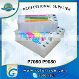 Refillable cartridge for Epson Sure Color P7080 P9080 printer