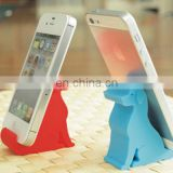 Pretty silicone animal phone holder