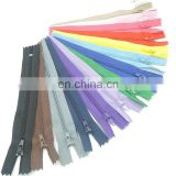 "7"" ykk nylon colorful pastel zippers assorted zippers wholesale zippers 100 pieces"