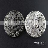 China cheap rhinestone button for garment accessory