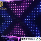 P18CM led video curtain RGB vision cloth for Dj Booth Matrix