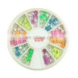 Wholesale popular nail product alloy 3d nail art supplies