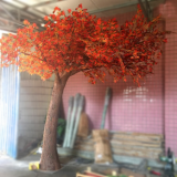 the newest product artificial tree maple tree for decoration 2019