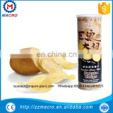 fully automatical potato chips crisps making machines/frozen french fries frying flacks sticks production line