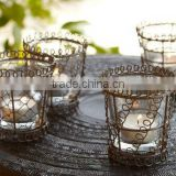 Decorative Candle T Light Holder, Iron Tea Light Candle Holder, Metal T-Lights Candle Holder, Decorative T-Lites