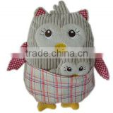 soft plush owl stuffed toy/stuffed owl toy