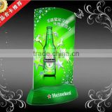 new 2015 product idea customized playing cards plastic led table tent                                                                         Quality Choice