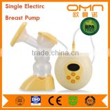 Best New bebe baby product silicone single Electric Breast Pump BPA Free Powerful Nipple Suction for Mommy Malaysia
