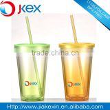 Color changing plastic cup gradient color water bottle