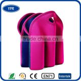 Wholesale insulated neoprene 6 can tube cooler