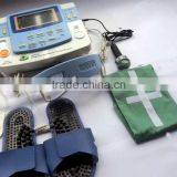 7channels integrated digital acupuncture therapy machine with ultrasound, laser,heating LGHC-33