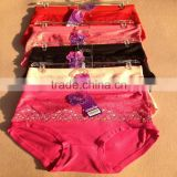 0.67USD High Quality Cotton Material Beautiful Fat Lady Panty/Panties/Thongs(jlhnk226)