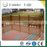 Eco-friendly wood plastic composite flooring pvc outdoor decking