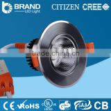 Aluminum Plastic Cover round cob led downlight led recessed down light dimmable led downlight CE/ROHS 10w D109*H60mm