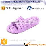 Fuzhou fashion nude best pvc bath leakslippers for girls women beach or indoor