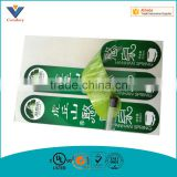 Custom Good quality Beverage bottles adhesive sticker paper