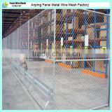2400 high AU standard 3 rail partition hot dip galvanised Chain wire fencing