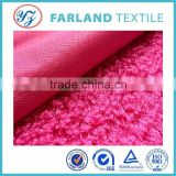 imitation animal wool Cashmere scarf fabrics sheep pen red color can be choicechangshu farland textile 100%polyester fabric