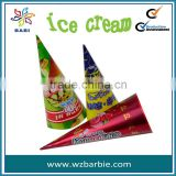 hing quality ice cream paper cone cups