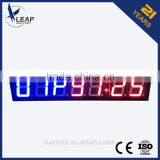 Wireless remote controlled led timer/ led display electronic board/outdoor led display board