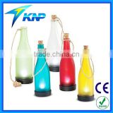 Solar Powered Bottle Light Hanging Patio Lamp Flame Effect Garden Yard Hanging Lamp