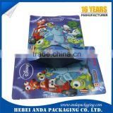 Custom packaging aluminium bags laminated packing bags/ printing food packing roll film