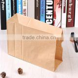 High grade Window kraft stand up zippper pouch/Brown kraft paper bags/food packaging bag