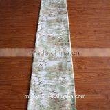 Width 2.4m 100% natural bamboo yarn woven printed fabric