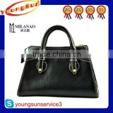 Wholesale Cheap new design smile bag European and American style rivet genuine leather smile bag