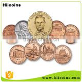 Custom High Quality Cheap Souvenir antique copper coin                                                                         Quality Choice