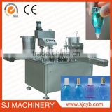 High accurancy full auto e-liquid filling packing machine ejiuce filling labeling capping machine