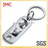 Custom Factory Bottle Opener Keychain for Promotional, Bottle Opener with Short Lanyard,