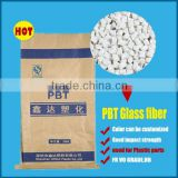 High quality modified engineering glass fiber PBT plastic raw material PBT granule