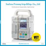 HOT SELLER CE Approved PRIP-S6001BV Portable Peristaltic Veterinary Infusion Pump with Big LCD Screen