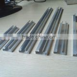 aluminum insert slat fitting with melamine mdf slatwall panel/aluminum slatwall Display Gondola
