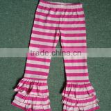 Old kids pants harem pants spring summer hot striped ruffle pants