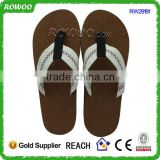 Hot Selling Eco-friendly Factory Price Wood Sole Flip Flops Cork Slippers Men