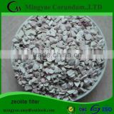 Natural granular zeolite for agriculture,zeolite filter material for water treatment