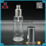 cylinder Screw Sealing perfume bottle empty glass bottle 50ml                                                                                                         Supplier's Choice