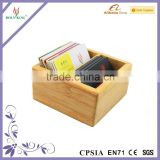desk storage paper bamboo gift box