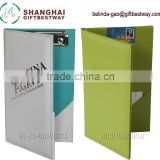 High quality smaller MOQ customized logo PU leather restaurant bill folder                                                                         Quality Choice