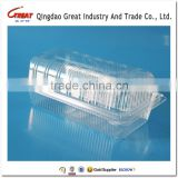 Disposable Clear Clamshell Cake Plastic Packaging Box                                                                         Quality Choice
